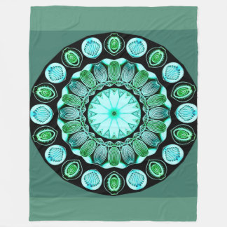 Seaglass Fleecedecke