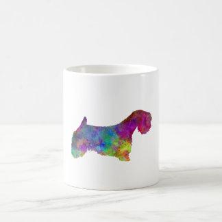 Sealyham Terrier im Watercolor Kaffeetasse