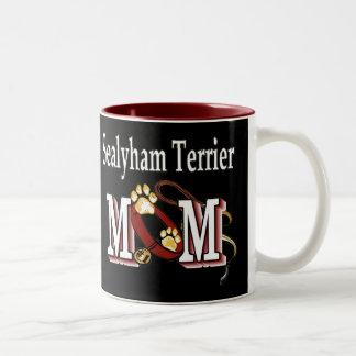 Sealyham Terrier MAMMA Geschenke Zweifarbige Tasse