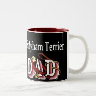 Sealyham Terrier Vati-Geschenke Zweifarbige Tasse