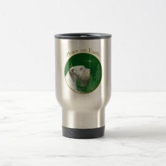 Sealyham Terrier-Weltfrieden Reisebecher