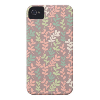 Seamless leaves pattern iPhone 4 Case-Mate hülle