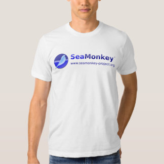 SeaMonkey Projekt - horizontales Logo Shirts