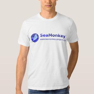 SeaMonkey Projekt - horizontales Logo T Shirts