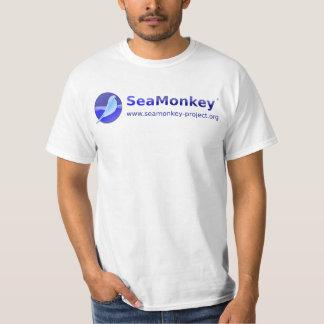 SeaMonkey Projekt - horizontales Logo Tshirt