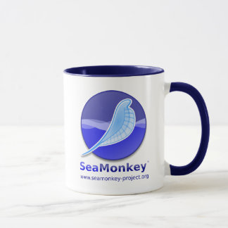 SeaMonkey Projekt - vertikales Logo Tasse