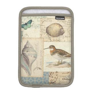 Seashell-Collage Sleeve Für iPad Mini