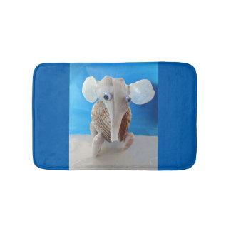 Seashell-Elefant-Handwerk TierSanibel Insel FL Badematte