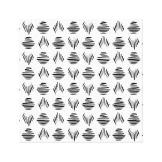Seashell-Muster-Leinwanddruck Leinwanddruck