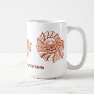 Seashell-Strand-Tasse Kaffeetasse