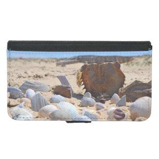 Seashells auf dem Strand durch Shirley Taylor Geldbeutel Hülle Für Das Samsung Galaxy S5