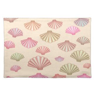 Seashells im Sand Tischset