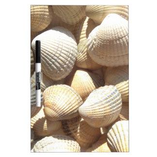 Seashells Trockenlöschtafel