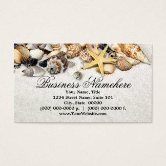 Seashells-Visitenkarten Visitenkarte