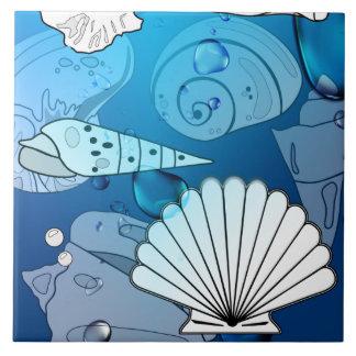 Seashells-Zuhause-Deko-Fliese Fliese