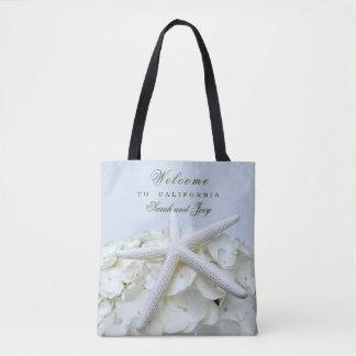 Seaside Garden Starfish Beach Wedding Welcome Bags Tasche