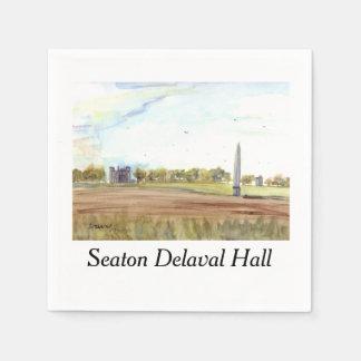 Seaton Delaval Hall Papierservietten