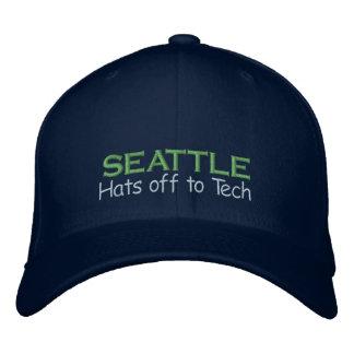 Seattle - der wahre König der Technologie Bestickte Baseballkappe
