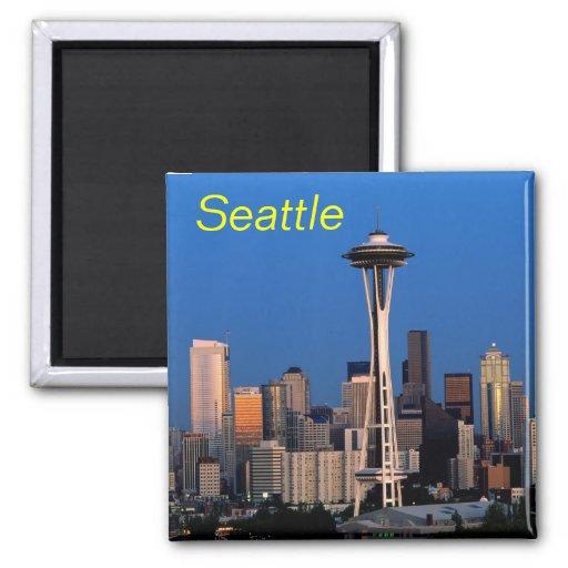 Seattle-Magnet Kühlschrankmagnet