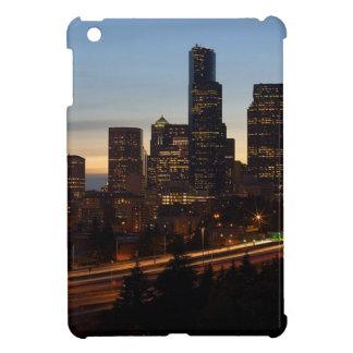 Seattle-NachtSkyline iPad Mini Hülle