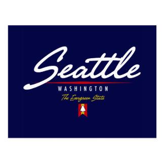 Seattle-Skript Postkarte