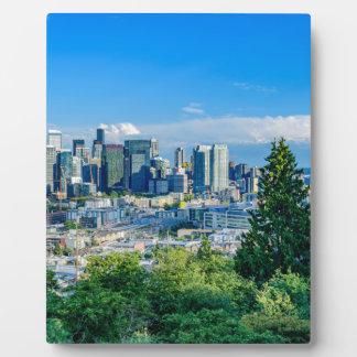 Seattle-Skyline Fotoplatte