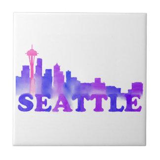 Seattle-Skyline Keramikfliese