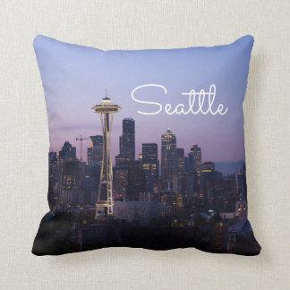 Seattle-Skyline Kissen