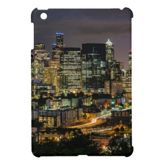 Seattle-Skyline nachts iPad Mini Hülle