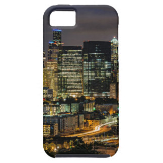 Seattle-Skyline nachts iPhone 5 Case