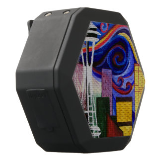 Seattle-Strudel Schwarze Bluetooth Lautsprecher