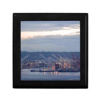 Seattle-Ufergegend Geschenkbox