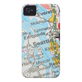 Seattle, Washington iPhone 4 Case-Mate Hülle