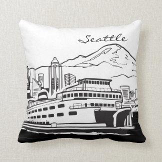Seattle Washington Kissen