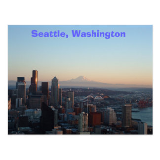 Seattle, Washington Postkarte