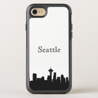 Seattleskyline-Silhouette-Kasten OtterBox Symmetry iPhone 8/7 Hülle