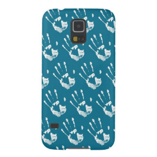 Seawater background with handprint samsung s5 cover