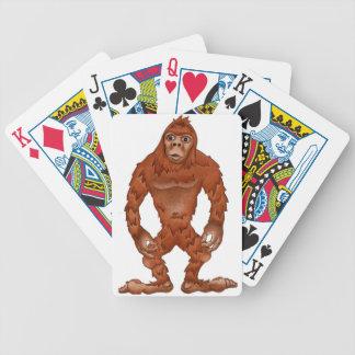 Sebastian sasquach, Bigfootyeti Pokerkarten