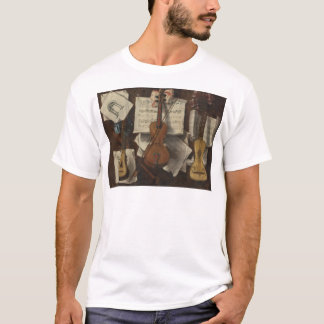 Sebastiano Lazzari Trompe - Violine und Musiknoten T-Shirt