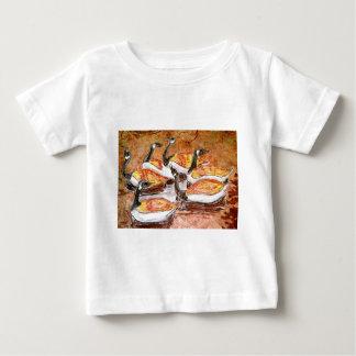 Sechs Legen der Gans-A Baby T-shirt