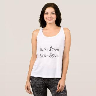 Sechs-Liebe, Sechs-Liebe Trägershirt Tank Top