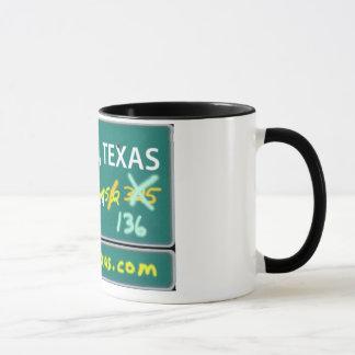 Sechs Mann, Texas-Kaffee-Tasse Tasse