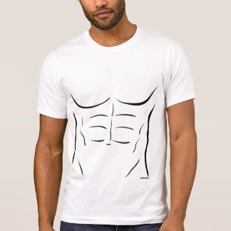 Sechs-Satz ABS T-Shirt