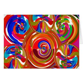 Sechs Sigma-Kreise - Reiki Farbtherapie-Teller V8 Karte