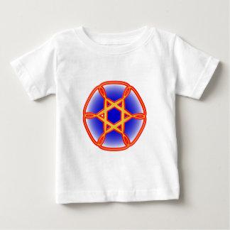 Sechseck Blüte hexagon bloom Baby T-shirt