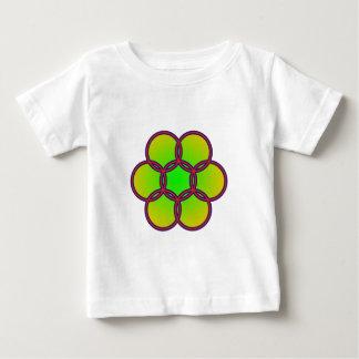 Sechsecke hexagons baby t-shirt