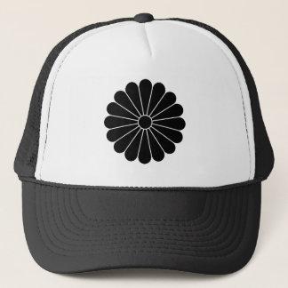 Sechzehn-petaled Chrysantheme Truckerkappe