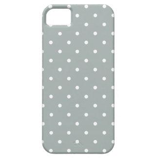 Sechziger reden grauen Tupfen iPhone 5/5S Kasten iPhone 5 Hüllen