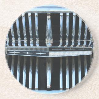 Sechzigerjahre klassischer Mercury-Grill Sandstein Untersetzer
