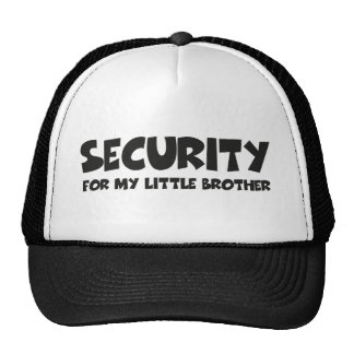 Security for my little brother baseballkappen
